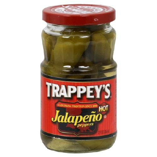 Trappey's Hot Jalapeno Peppers, 12 Ounce (Pack of - Whole Jalapeno Peppers