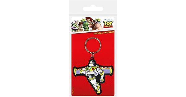 Amazon.com: Toy Story Buzz Lightyear Llavero de goma: Office ...