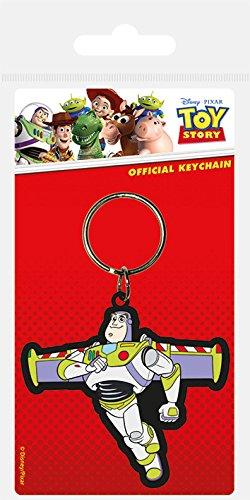 Disney Toy Story Buzz Lightyear Gummi Schlüsselanhänger mngpY8te