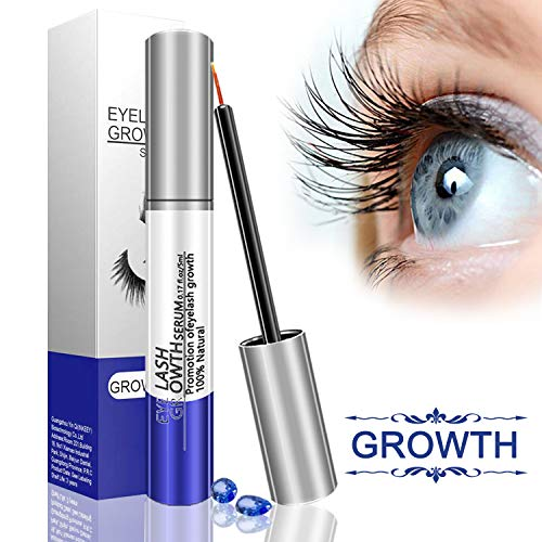 Eyelash Growth Serum Best Natural Eye Lash Enhancing Treatment To Dramatically Boost and Grow Ultra Thicker, Longer, Lusher and Lavisher.