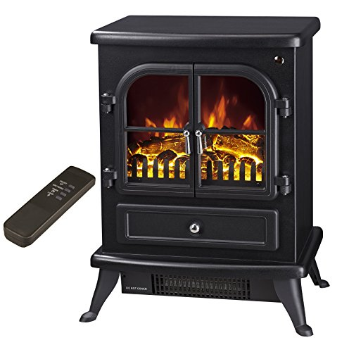 Galleon Fires - 'Agena' Electric Stove with Remote Control - Realistic...