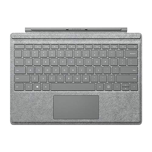 (Microsoft QC7-00098 Surface Pro Signature Type Cover - Two-Tone Gray Mélange (Renewed))