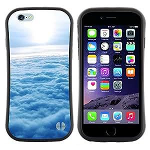 "Hypernova Slim Fit Dual Barniz Protector Caso Case Funda Para Apple (4.7 inches!!!) iPhone 6 / 6S (4.7 INCH) [Naturaleza Nube Sol""]"