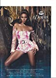 --PRINT AD--- With Beyonce For House of Dereon Pink Jumper Fashion --PRINT AD--