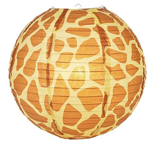 weglow-international-14-giraffe-print-paper-lantern