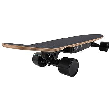 sakj-b Tablero Deslizante para patineta eléctrico de 4 Ruedas y Motor Central de 350