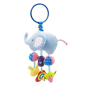 Amazon.com: Deerbb Elefante Bebé Cuna Móvil Cama Campana ...
