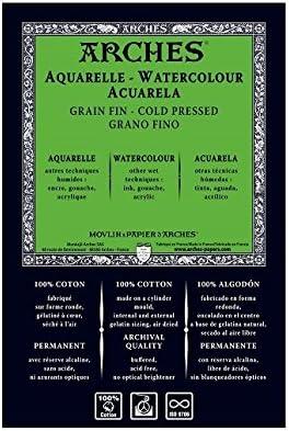 Unbekannt Arches 1795005 Papel de Acuarela, Papel, Color Blanco ...