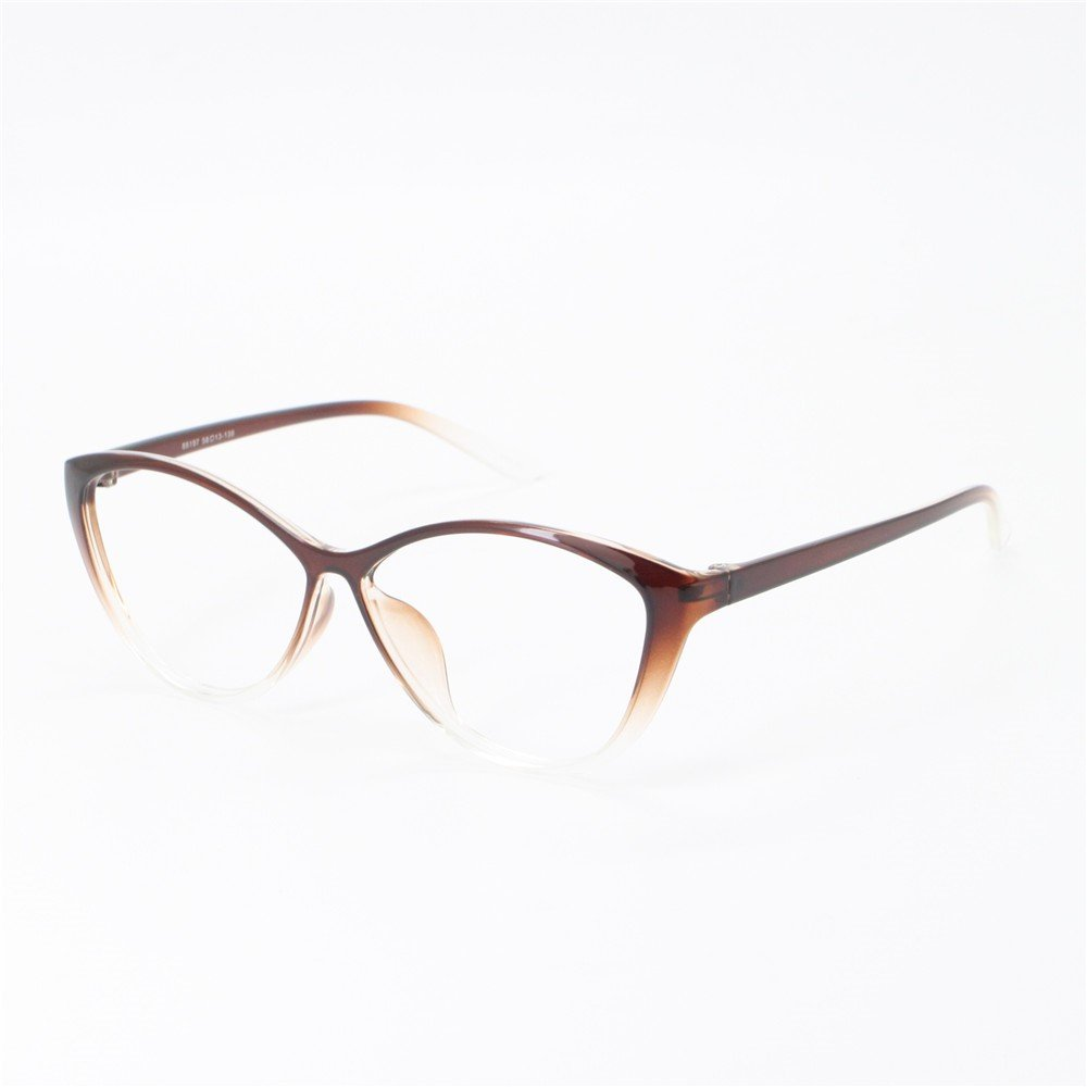 b9bd755c48a6 Amazon.com: EyeBuyExpress Women Reading Glasses Reader Cheaters Cat Eye  Brown TR90 Flex: Beauty