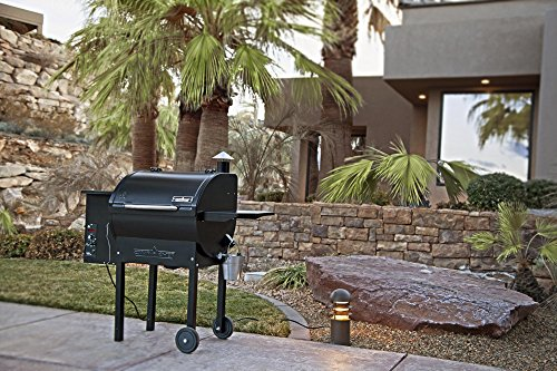 Camp Chef SmokePro DLX PG24 Pellet Grill With Patio Cover - Bundle (Full Cover)