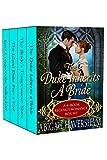 The Duke Inherits a Bride: 4-Book Regency Romance Box Set (Regency Romance)