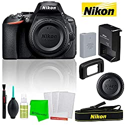 Image of the product Nikon D5600 242MP DSLR that is listed on the catalogue brand of Nikon.