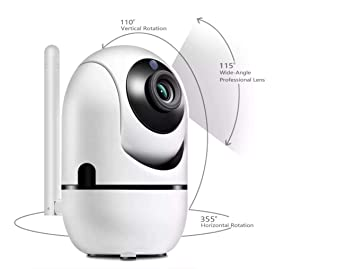 Amazon com : Cloud Storage Intelligent 360 Degree Camera : Baby