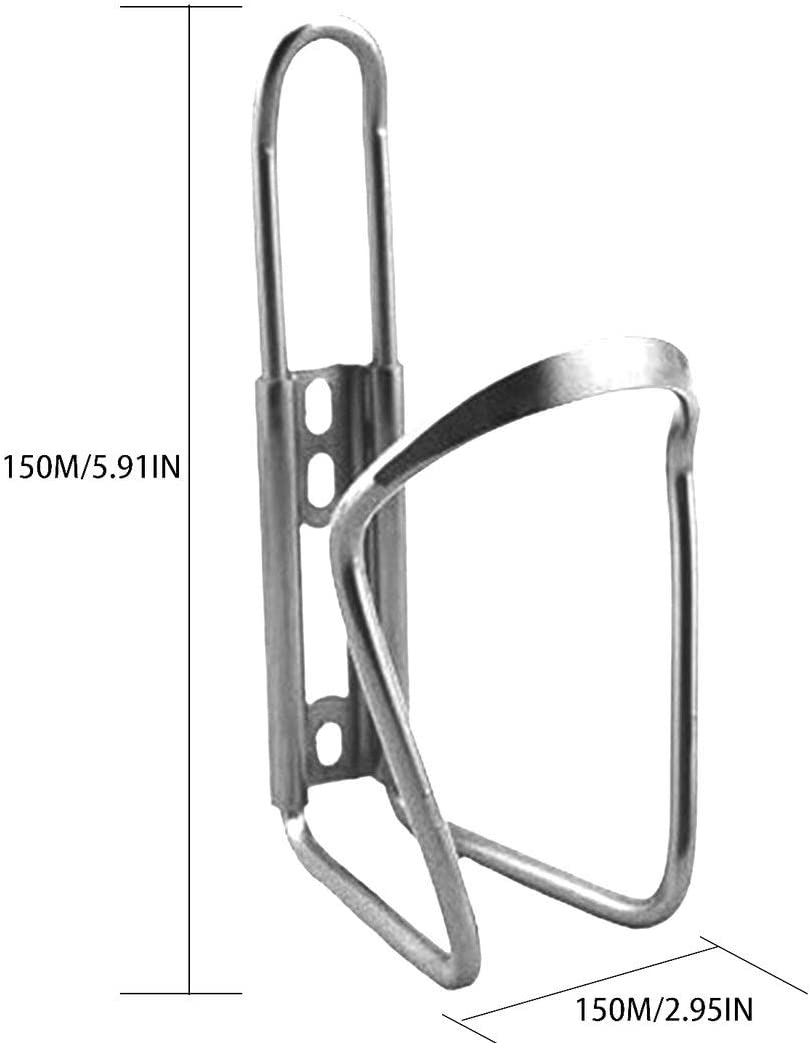 Swiftswan Bike Water Bottle Cages,Lightweight Aluminum Alloy Bicycle Water Bottle Holder Brackets for Outdoor Activities