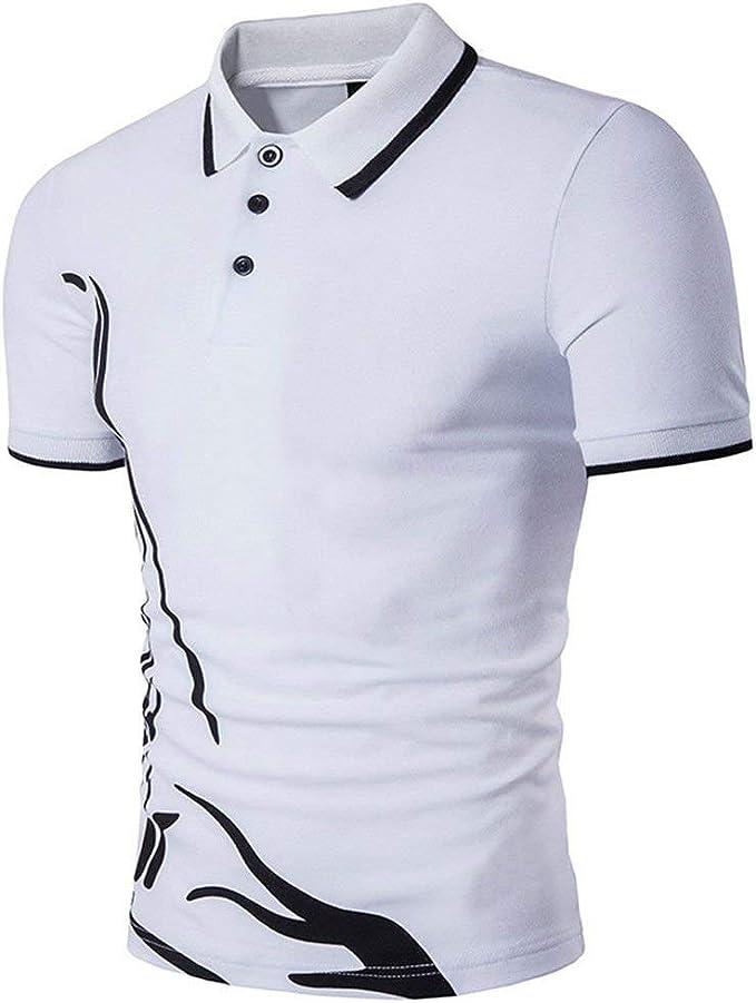 Camisa De Polo para Hombre De Verano Casual Daily Sports Polo De ...
