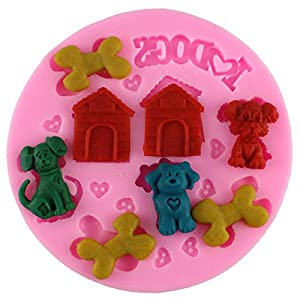 Cake Decorating Animal Molds : Amazon.com: Mujiang Animal Pet Supplies Cake Decorating ...