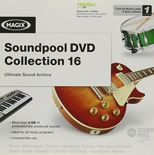 MAGIX Soundpool DVD Collection -