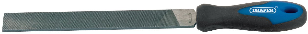 Draper 44953 Lime plate à main avec manche 200 mm