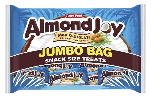 Almond Joy Snack Size Bars, 20.1-Ounce Jumbo Bags (Pack of ()