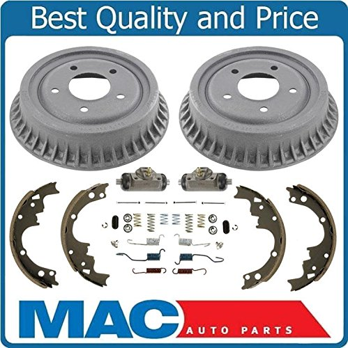 Mac Auto Parts 145327 Astro Safari Van (2) Brake Drum Drums & Shoes B5 H71 Wheel Cyl (Van Wheels Astro)