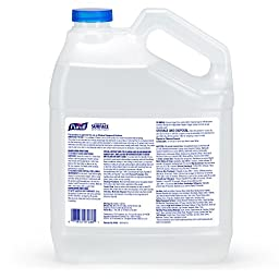 PURELL Healthcare Surface Disinfectant Spray 1 Gallon – Kills Norovirus in 30 Seconds, Fragrance Free, RTU (Pack of 4)