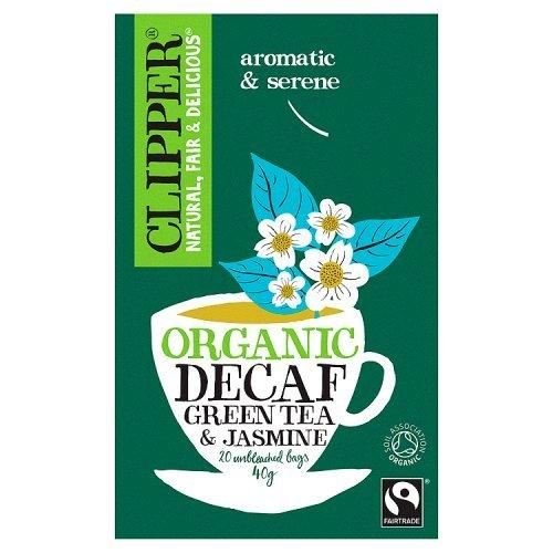 Clipper Green Decaf Tea & Jasmine - Organic 20 Bags - Clipper Green Tea
