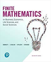 Finite Mathematics for Business, Economics, Life Sciences, and Social Sciences (14th Edition)