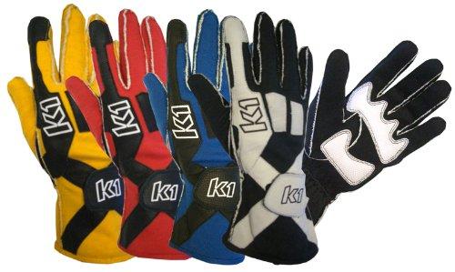 K1 Race Gear 40083218 Blue Medium Pro X Driving Glove - Pair ()