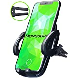 Universal Air Vent Car Phone Mount Holder – 2019 Updated Version by Mongoora – for Any Smartphone – Car Cell Phone Holder – Vent Phone Holder – Car Vent Mount – Air Vent Mount Holder – for Women Men