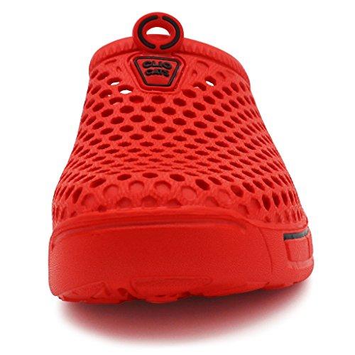 White Ivao Unisex Clog Shoes Sandal