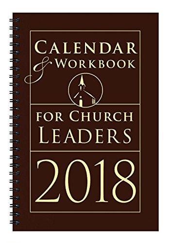 Calendar & Workbook for Church Leaders (Church Calendar)