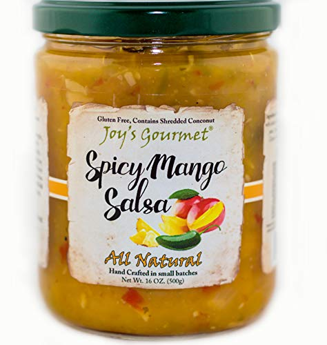 (Spicy Mango Salsa )
