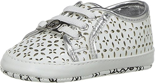 MICHAEL Michael Kors Kids Baby Girl's Boerum (Infant/Toddler) White/Silver - Infant Michael Kors