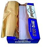 Handi-Foil 9'' x 10.75'' Gold Interfolded Aluminum Foil Pop-Up Sheets 200/PK (Pack of 200)