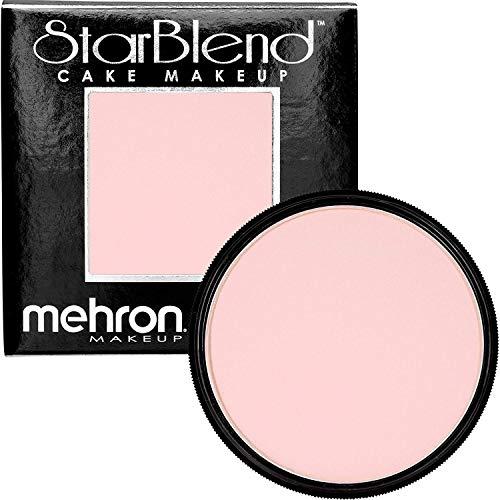 Peaches And Cream Halloween Makeup (Mehron Makeup StarBlend Cake (2 oz) (Soft)