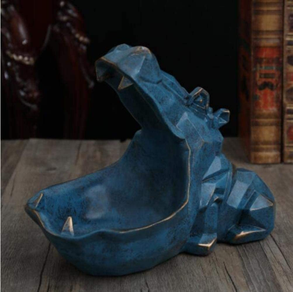 5 linyiming-gongyibaishe01 Hippopotamus Statue Dekoration Harz artware skulptur Statue dekor Dekoration zubeh/ör