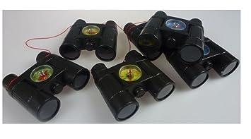 Fernglas mit Kompass Mitgebsel Kindergeburtstag Spielzeug für Kinder Tombola Spielzeug Großhandel & Sonderposten