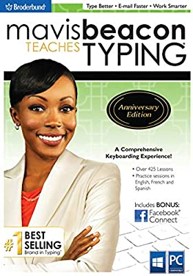 Mavis Beacon Teaches Typing Anniversary Edition [PC Download]