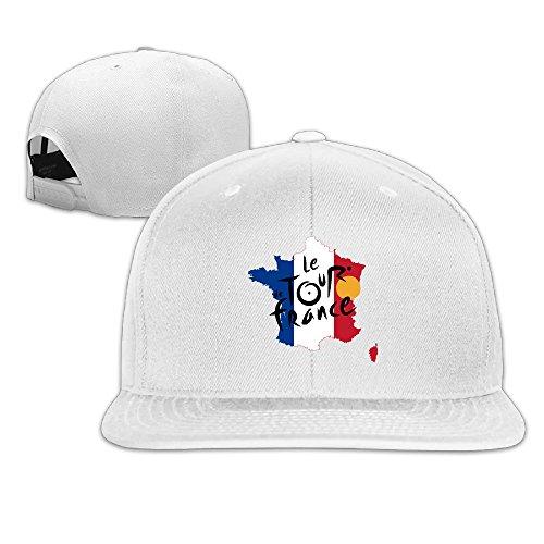 tour-de-france-flag-map-unisex-adjustable-flat-hat-bill-baseball-cap-outdoor-sports-8-colors