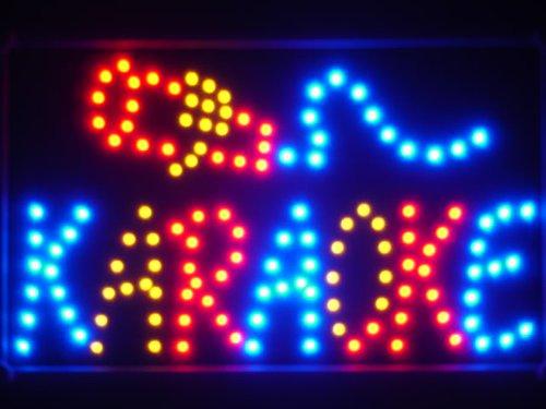 Amazon.com: ADV PRO led021-b Karaoke LED luz de neón cartel ...