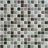 Peel & Impress 11.25'' x 10'' Adhesive Vinyl Wall Tiles, Soft Casual, Bulk 40 Pack