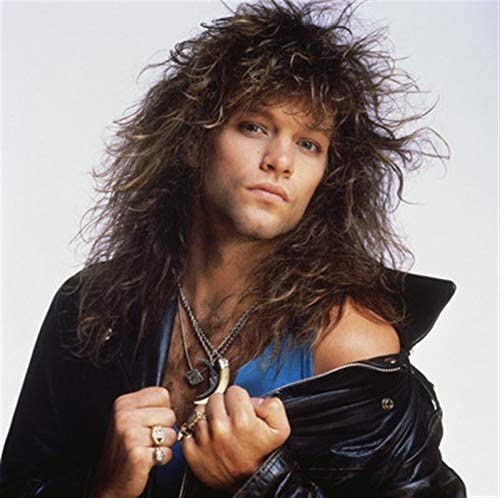 Jon Bon Jovi New Colur POSTER Hair