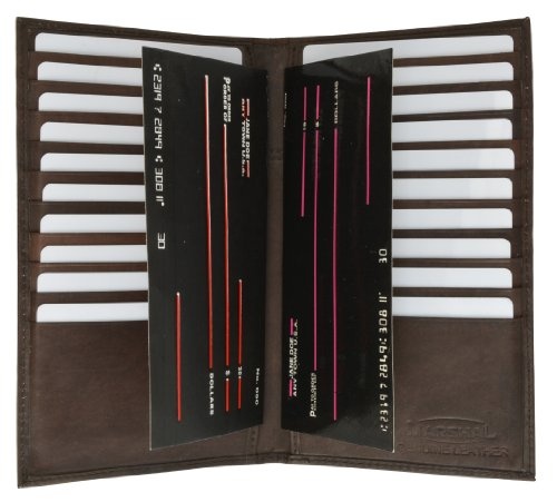 Credit Card Organizer Wallet for Women with 20+ card Slots by Marshal