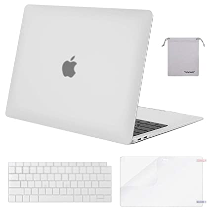quality design 201df 416a1 MOSISO MacBook Air 13 Inch Case 2018 Release A1932 with Retina Display,  Plastic Hard Shell & Keyboard Cover & Screen Protector & Storage Bag Only  ...