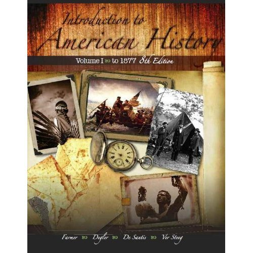 INTRO.TO AMERICAN HISTORY,VOL.II