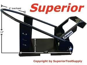 Superior™ Removable Motorcycle Self Locking Steel Wheel Chock