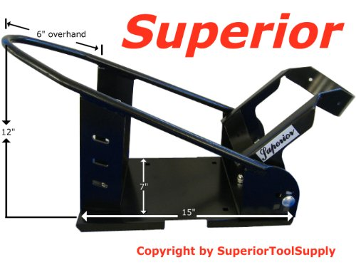 Superior™ Removable Motorcycle Self Locking Steel Wheel Chock by Superior Supply (Image #2)