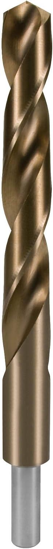Negro rectificada con mango reducido Ruko 2005105 Broca helicoidal DIN 338 tipo N HSS Co 5 10,5 mm