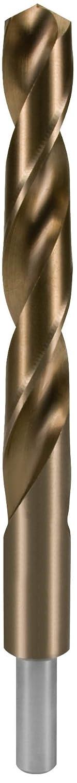 HSS Co 5 Ruko 2005140 Broca helicoidal DIN 338 tipo N rectificada con mango reducido , 14 mm