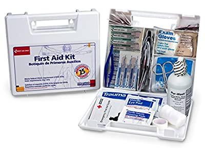 First Aid Only 25 Person First Aid Kit, 107 Pieces, 10 Count from First Aid Only